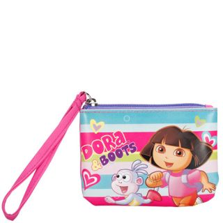 Girls   Dora the Explorer   Girls Dora Stripe Wristlet   Payless