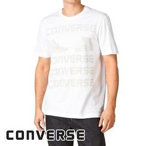 Converse Goody Two Shoes Mens T Shirt   Bright White