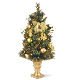 36 Decorated Artificial Christmas Tree at Brookstone—Buy Now