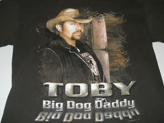 TOBY KEITH BIG DOG DADDY concert tour ADULT M rare WOW