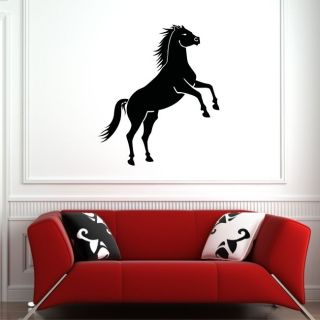 HORSE Wall Sticker Vinyl Kids Decal Stencil riding bedroom large girls
