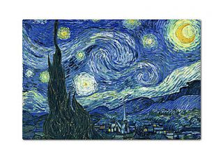 The Starry Night Refrigerator Fridge Magnet   van Gogh