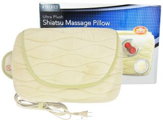 HoMedics   Ultra Plush Shiatsu Massage Pillow SP 20H Beige   CLEARANCE