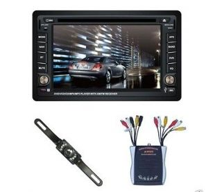 Hot New 6 DVD GPS NAVIGATION CAR STEREO TOUCH SCREEN DOUBLE DIN lojm