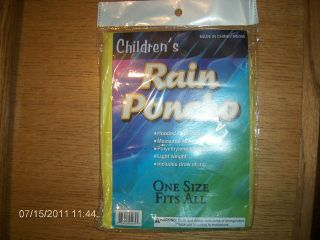 rain poncho kids in Clothing,