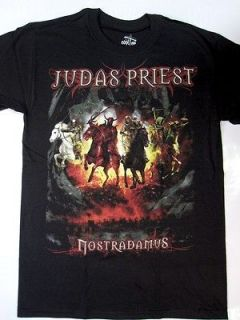 JUDAS PRIEST NOSTRADAMUS HALFORD HEAVY METAL IRON MAIDEN S XXL NEW