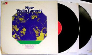 New Violin Summit Sugar Cane Harris Jean Luc Ponty Michal Urbaniak 2LP