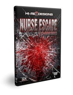 NURSE ESCAPE V.2 SPITTER VERSION ANIMATRONIC HAUNTED HALLOWEEN PROP