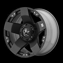 18 inch KMC XD SERIES ROCKSTAR 775 WHEEL RIM 18x9 BLACK 5x5.5 NEW EACH