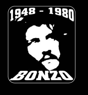 John Bonham Tribute T Shirt Led Zeppelin Bonzo T Shirt