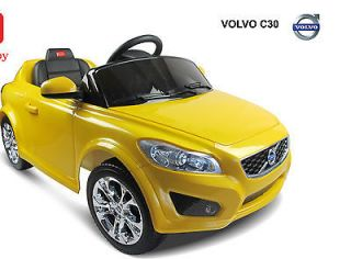 Licensed VOLVO C30 R/C Battery Baby / Kids Ride On Toy Car Model 14