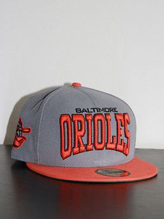 new era baltimore orioles logo mlb 59fifty fitted baseball cap