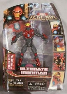 Marvel Legends Annihilus Series Action Figure Ultimate Iron Man helmet