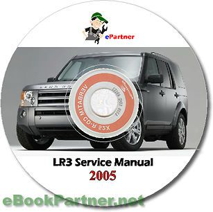 lr3 land rover discovery 3 service repair manual 2005 cd
