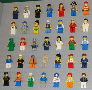 Newly listed Lego MINIFIGURES Lot 35 People Police Girls Pirate Space
