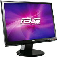 ASUS VH198T 19 LED LCD Monitor, built in Speakers