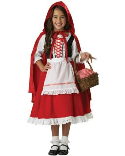 little red riding hood costume kids in Girls