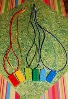 LEGO Necklaces Unique Birthday Party Favor Boy OR Girls Matching
