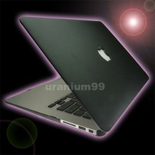Case Plastic Black 13  13.3  Apple MacBook Air Laptop Notebook Mac
