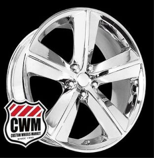 20x9 Dodge Challenger SRT8 Style Chrome Wheels Rims for Dodge