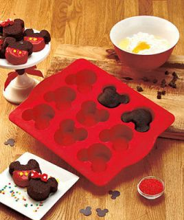 disney mickey mouse silicone mini cake or brownie pan time