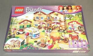 NEW Girls LEGO Friends Set 3185 Summer Riding Camp w Stephanie, Ella