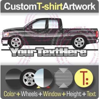 Custom T shirt for 09 12 Dodge Ram SLT Big Horn Crew Quad Cab pickup