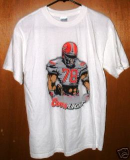 Active Wear COORS LIGHT Beer Logo Tee Shirt Tshirt Size Medium***$30