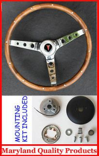 Newly listed 1969 1993 Pontiac GTO Firebird GRANT WOOD STEERING WHEEL