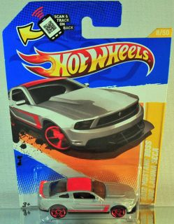 Hot Wheels 2012 Mustang Boss 302 Laguna SECA 2012 New Models GREY
