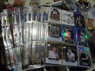 Huge Sport card lot collection baseball Promo Rookie Inserts Auto