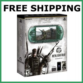 PSP Metal Gear Solid Peace Walker System   Limited Edition   FREE