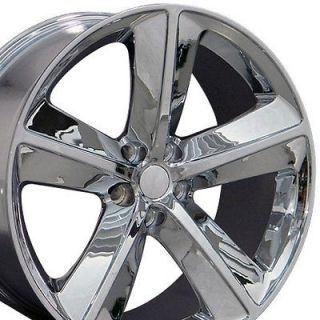 Set of (4) 20 Chrome Dodge Challenger SRT8 Replica Wheels Rims 20x9