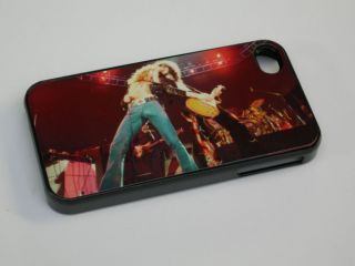4s mobile phone hard case cover Led Zeppelin Robert Plant Jimmy Page