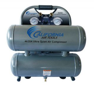 Air Tools 4620A Ultra Quiet & Oil Free Air Compressor   USED