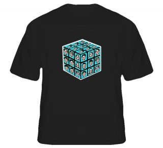 the brady bunch rubik cube t shirt
