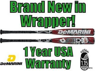 demarini wtdxvdr 31 22 voodoo senior youth big barrel baseball bat