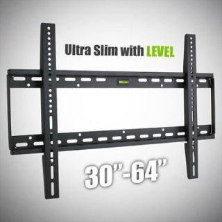 New Flat Screen Ultra Low Profile Wall Mount LCD LED PLASMA TV 32 37