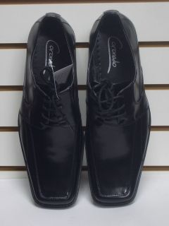 MENS ITALIAN STYLE BLACK DRESS SHOES SIZE 7 NEW MENS DRESS SHOES