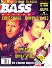 Bass Player Magazine Chris Squire Yes Led Zeppelin November 1994 Vol