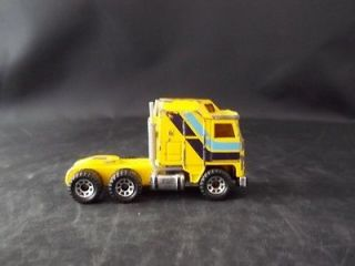 Vintage 1981 Matchbox Kenworth Aerodyne Cabover Semi Truck Tractor