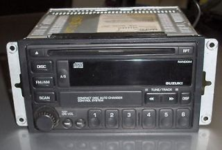 00 05 suzuki vitara grand vitara single disc cd radio
