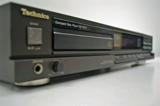 newly listed technics stereo compact disc cd player sl p220
