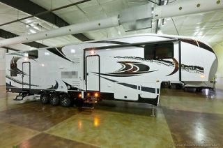 Slide 5th Fifth Wheel Toy Hauler w/12 Garage & Gen. aka 35X12