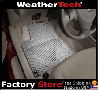WeatherTech® All Weather Floor Mats   Toyota Corolla   2009 2013