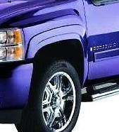 FENDER FLARES 07 11 CHEVY SILVERADO L/STD BED FF008 PP (Fits 2010