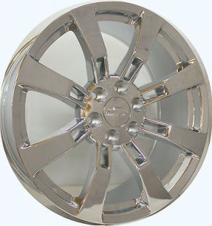 Chrome Wheels Rims Tahoe Suburban Avalanche Denali Yukon New Set 4