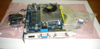 NVIDIA GEFORCE GT120 1024MB DUAL DISPLAY DVI VGA HDMI ATX PCI EXPRESS
