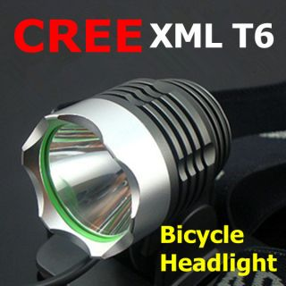 CREE XML XM L T6 1800 Lumen LED Cycle Bicycle Lamp Bike Light HeadLamp