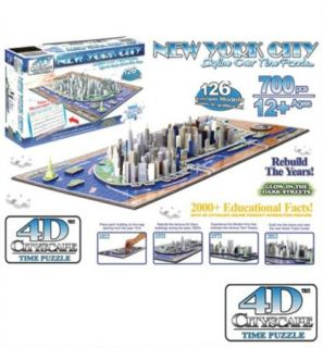 Cityscape 40010 4D New York City Skyline Time Puzzle